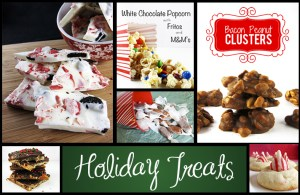 Holiday Treats RoundUp | www.EatLaughPurr.com #HolidayCookies #HolidayTreats #ChristmasCandy
