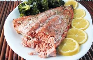 Honey Salmon in Foil   www.EatLaughPurr.com