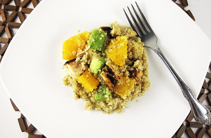 Citrus Chicken with Quinoa | www.EatLaughPurr.com