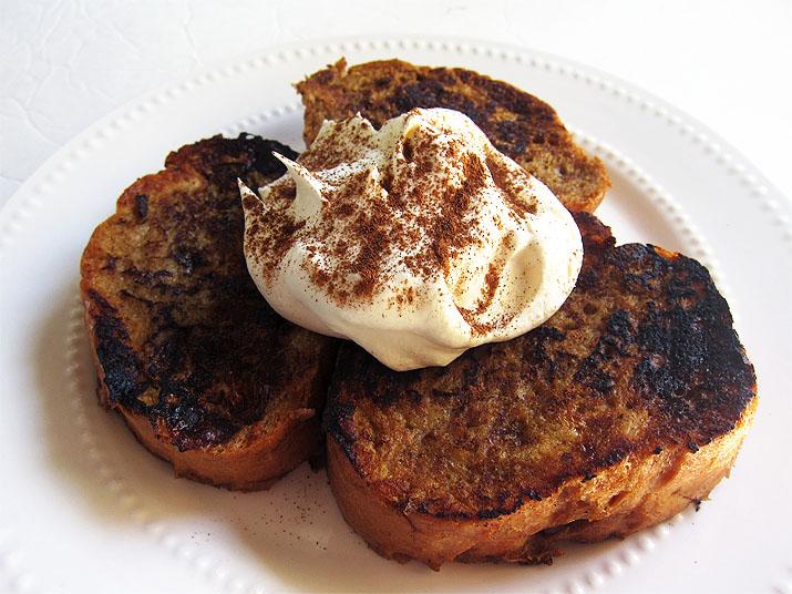 Pumpkin Spice French Toast | www.EatLaughPurr.com