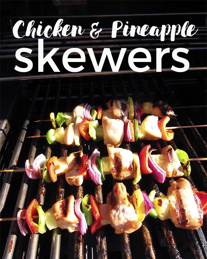 Chicken Pineapple Skewers