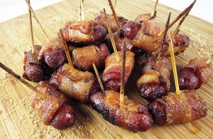 Candied Bacon Lil Smokies
