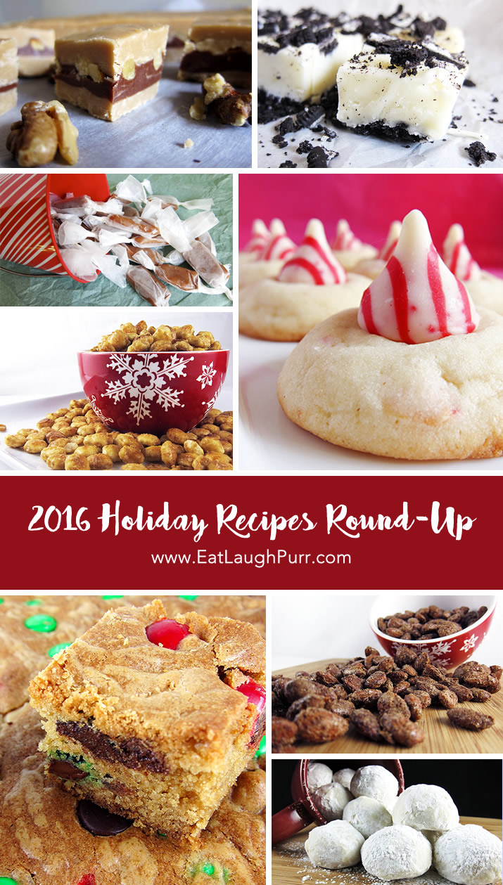A round-up of delectable holiday treats from candy cane thumbprints to creamy caramels to rich Oreo fudge and much, much more.
