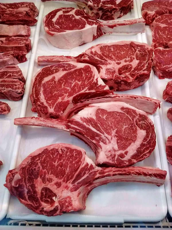 Iron Rib Eye Cast Steak Skillet