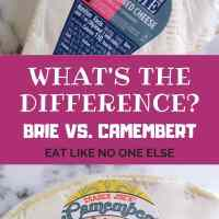 What's the Difference Between Brie and Camembert Cheese?