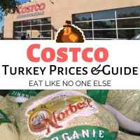 Costco Turkey Prices 2020