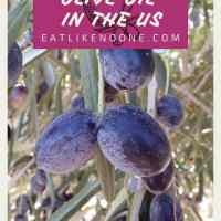 Does the US Produce Olive Oil?