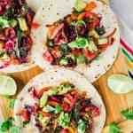 Simple Veggie Tacos