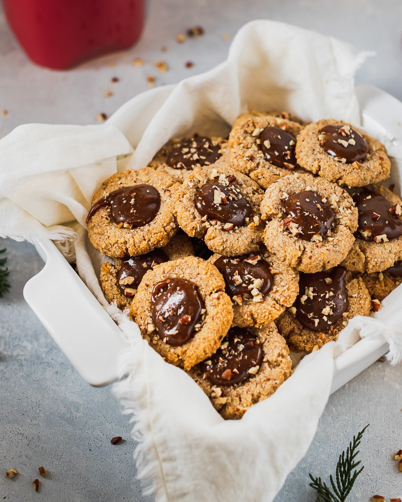 pecan caramel cookies