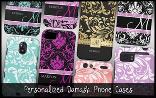 damask phone cases