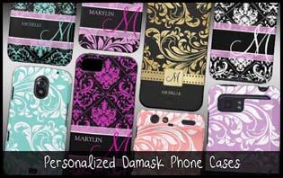 damask phone cases
