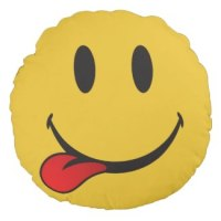 smiley custom emoji pillows