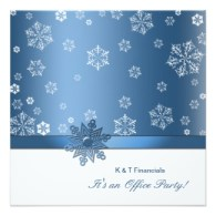 office christmas party invitaitons
