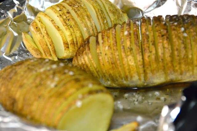 Eat More of It Sliced Baked Potatoes Cooked