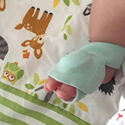 Owlet Baby Monitor on Baby's Foot.