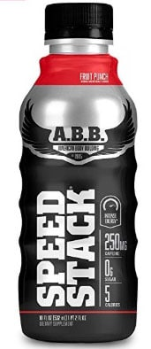 A photo of a bottle of ABB Speed Stack.