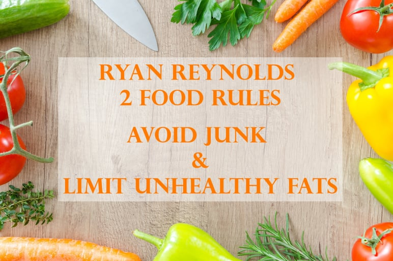 what is your opinion of ryans current diet?