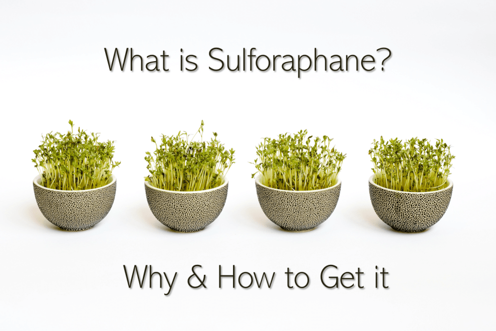 Sulforaphane Supplements for Nrf2 Activation