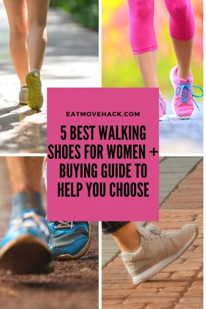 5 Best Walking Shoes For Women + Buying Guide to Help You Choose