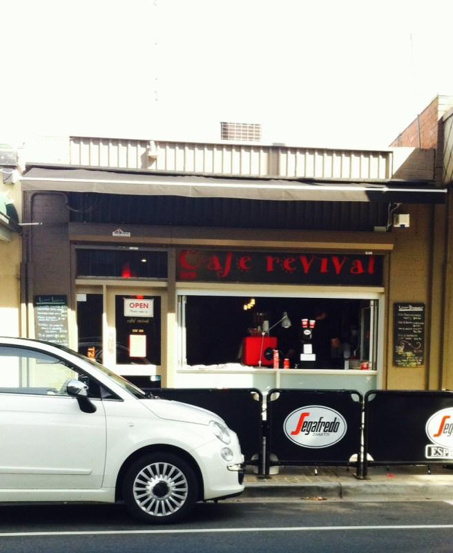Cafe Revival Berwick.