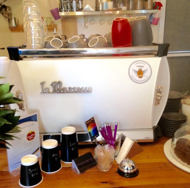coffee at Impodimo Cafe Garfield