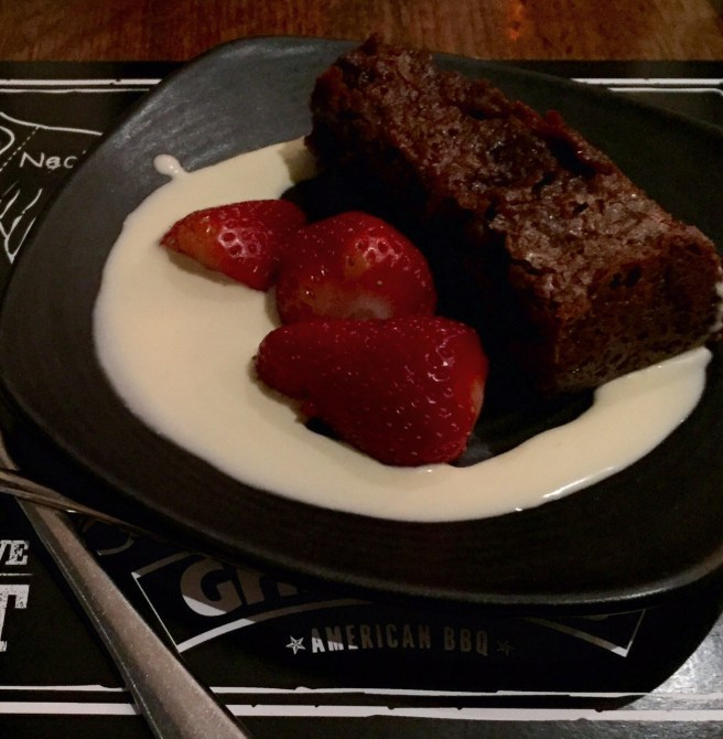 Chocolate Chilli Brownie at Grill Mates American BBQ School