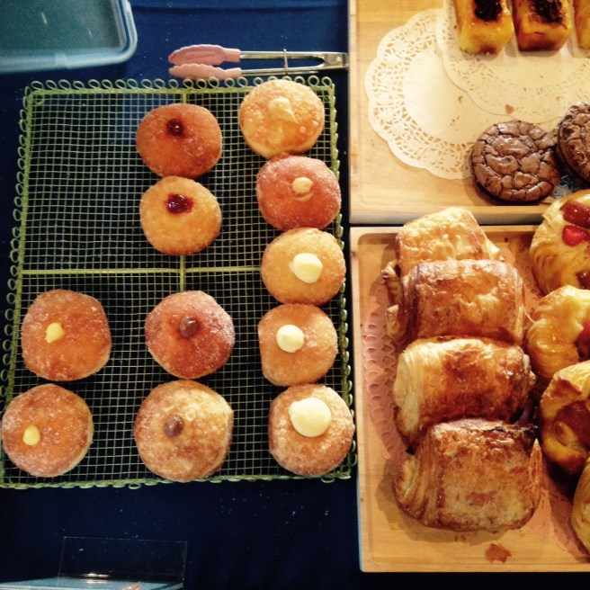 donuts at the Yarra Valley Regional Food Group Farmers Market