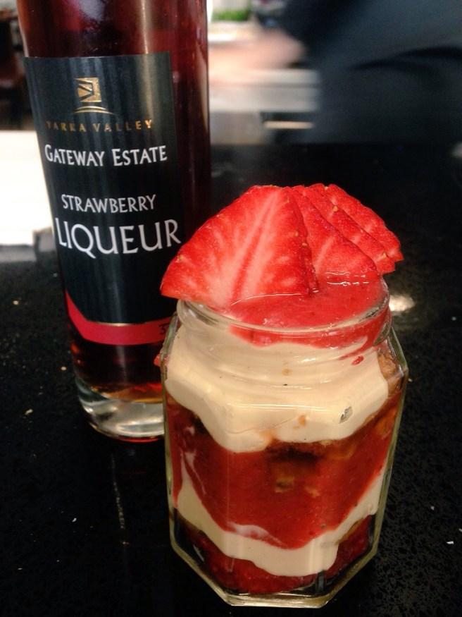 dessert from Locavore Studio Lilydale