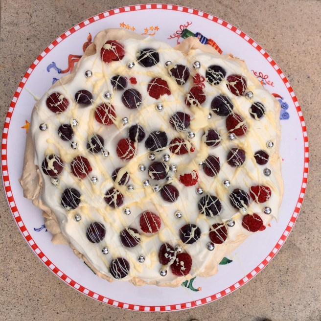 Marshmallow Pavlova Recipe