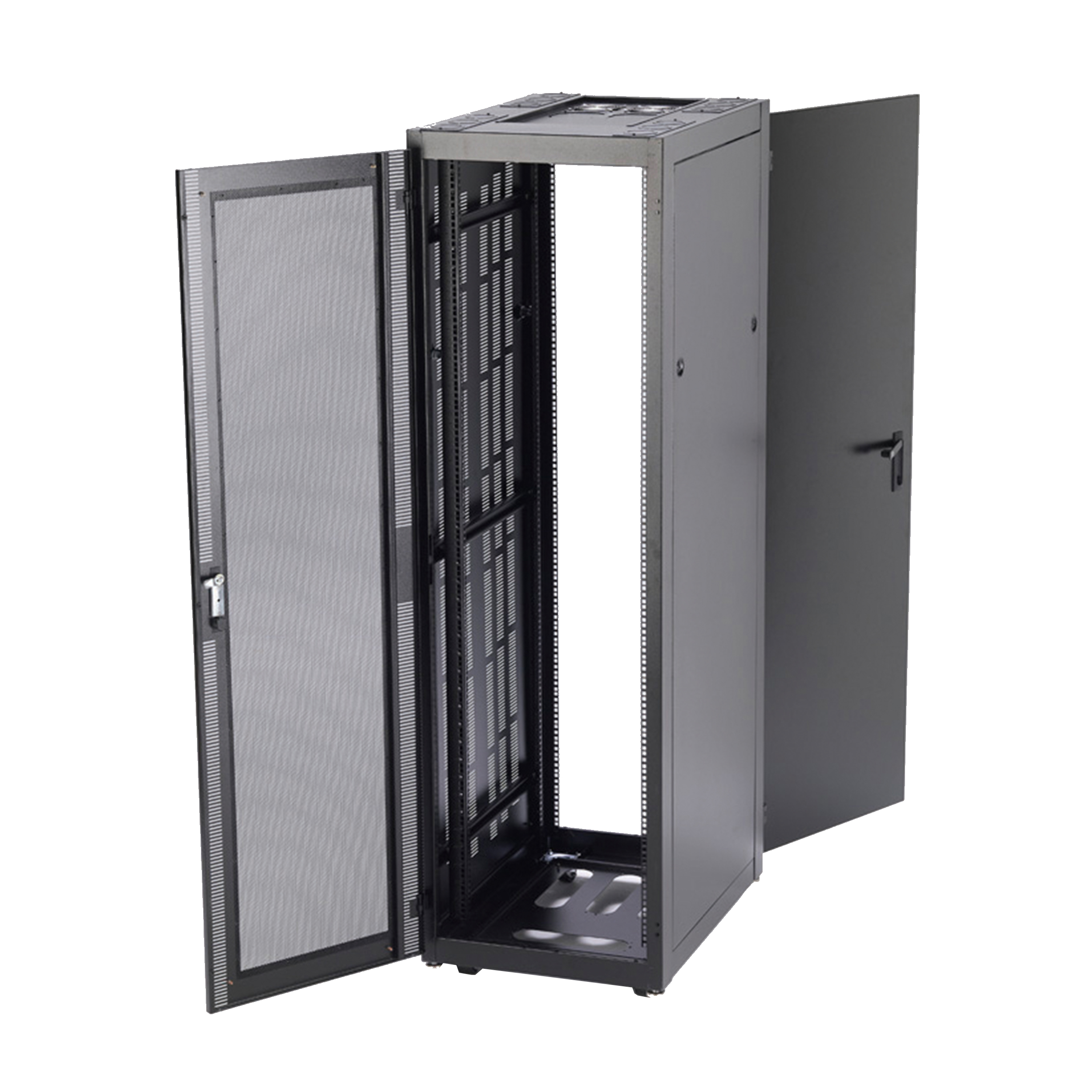 v line cabinet server rack