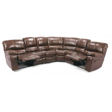Cheers 8625 Leather Reclining Sectional Eaton Hometowne Furniture Eaton And Greater Dayton Ohio