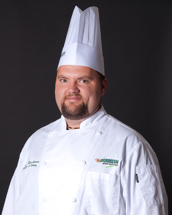 JASON KLUECKMAN : Director of Culinary Services
