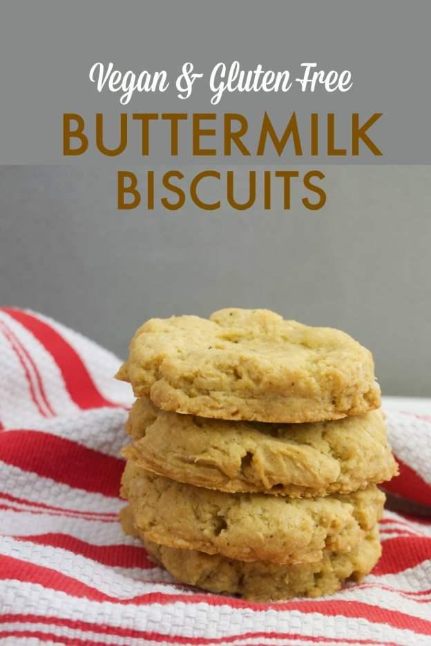 vegan and gluten free buttermilk biscuits