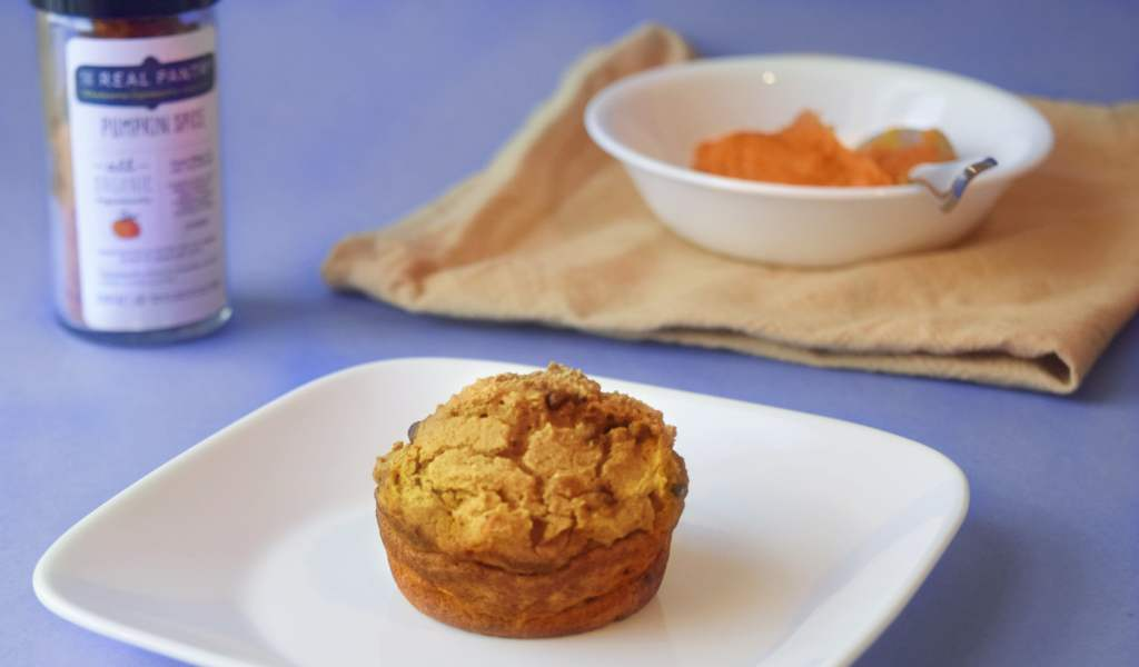 the real pantry pumpkin spice muffin