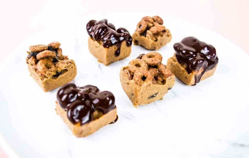 almond butter cereal bars