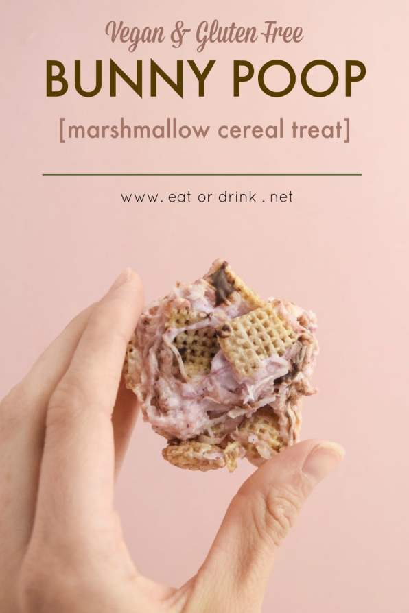 bunny poop (marshmallow cereal treat)