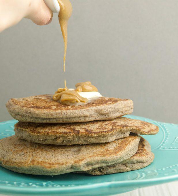 vegan buckwheat pancake