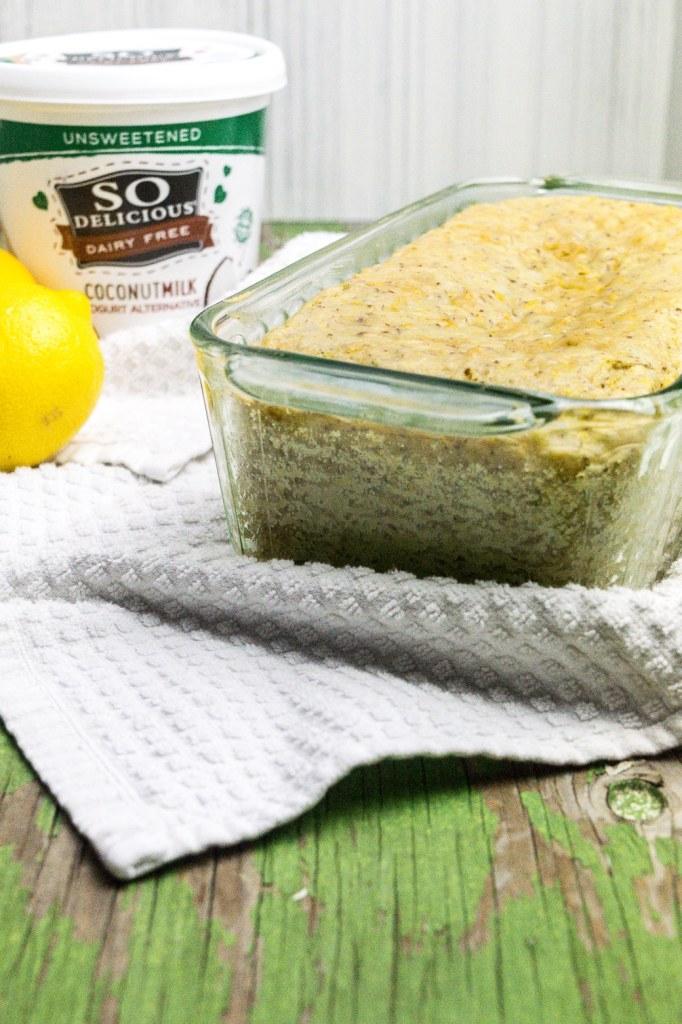 lemon yogurt bread gluten free dairy free soy free