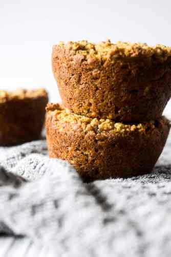 healthy morning muffins vegan
