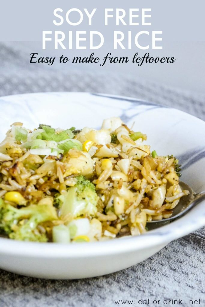 soy free fried rice easy