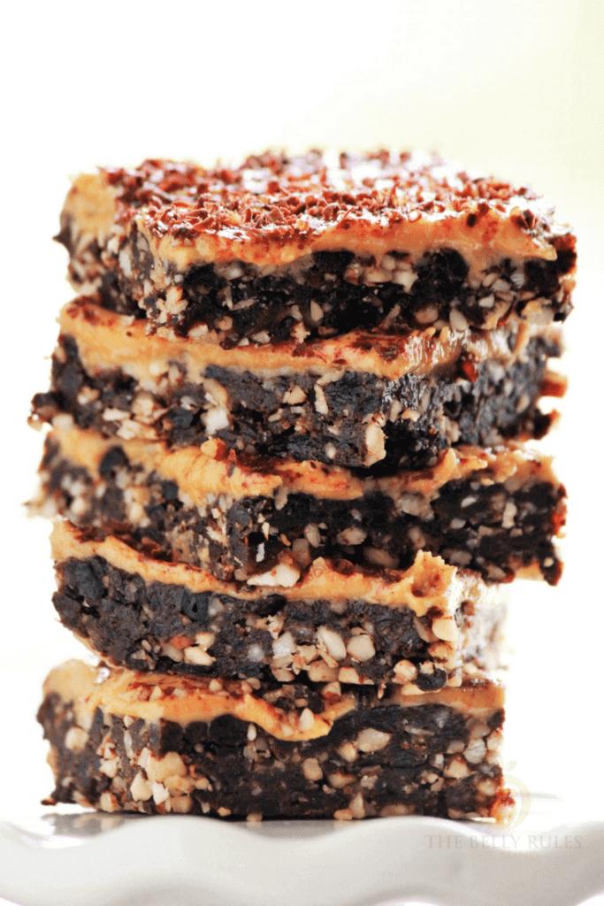 vegan brownies no bake