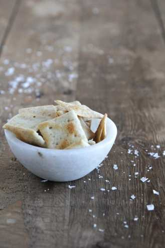 simple mills sea salt almond flour crackers as pictured on their website