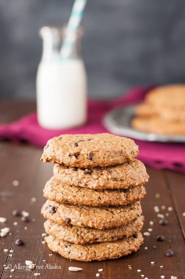 refined sugar free desserts protein packed monster breakfast cookies paleo vegan