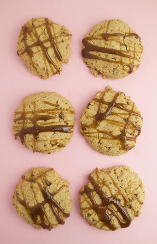 Salted maple walnut cookies gluten free vegan baked goods