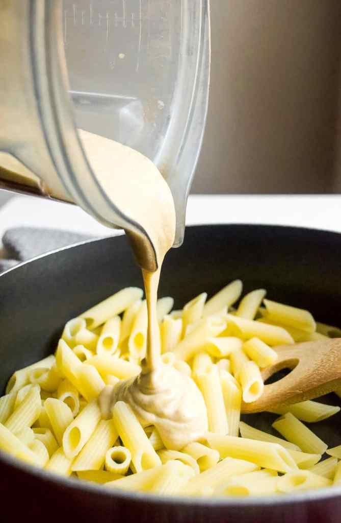 easy vegan squash mac and cheese