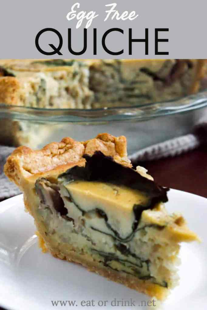 egg free quiche gluten free crust recipe