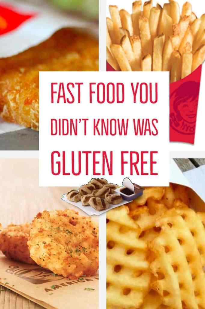 gluten free fast food options