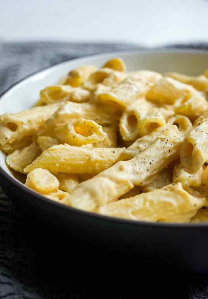 gluten free vegan squash mac and cheese