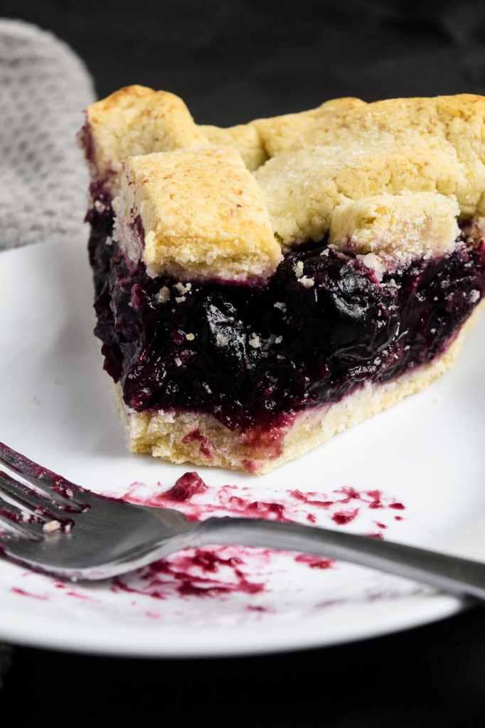 gluten free vegan cherry pie