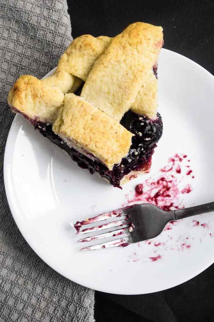 how to make gluten free cherry pie